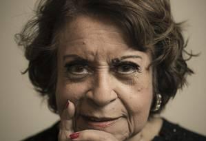 A cantora Leny Andrade, comparada a Ella Fitzgerald e Sarah Vaughan pelo 'New York Times' Foto: Leo Martins