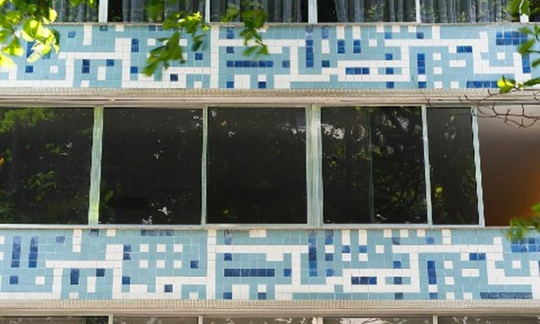 Edifício em Ipanema tem fachada assinada por Noel Marinho Foto: Divulgação