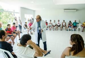 Clinica Jorge Jaber oferece curso gratuito na área de saúde: Psiquiatria e Dependência Química Foto: Divulgação
