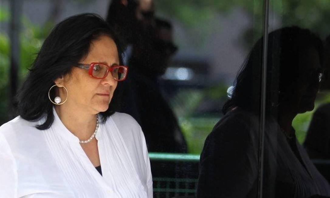 Damares Regina Alves, ministra da Mulher, Família e Direitos Humanos no CCBB, durante formação do gabinete de transição Foto: Jorge William / Agência O Globo