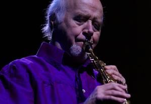 O saxofonista americano Paul Winter Foto: Divulgação