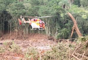 Nove pessoas morreram após rompimento de barragem em Brumadinho Foto: Giazi Cavalcante / Agência O Globo