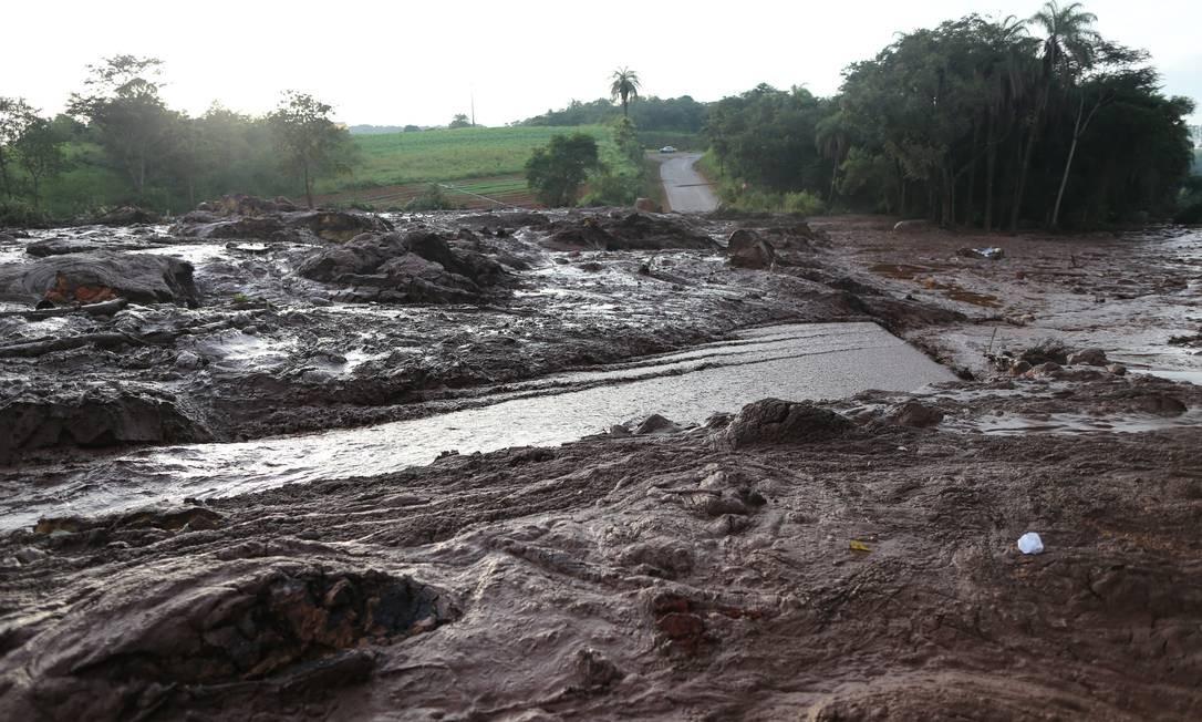 Rompimento da barragem 1 da Mina do Feijao, da mineradora Vale, em Brumadinho (MG), Regiao Metropolitana de Belo Horizonte, deixa mais de 300 pessoas desaparecidas segundo o Corpo de Bombeiros de Minas Gerais Marcia Foletto / Marcia Foletto