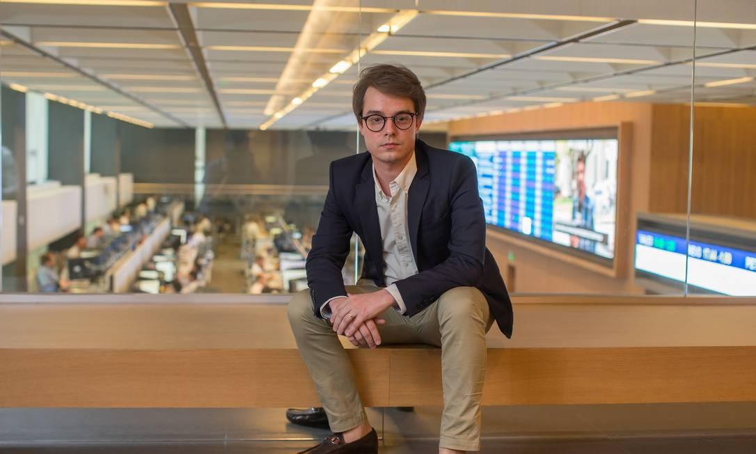 Incentivo. Bruno Mesquita, um dos fundadores do escritório AVG: injeção de capital inicial tornou mais interessante ligação exclusiva com o BTG Foto: Edilson Dantas / Agência O Globo