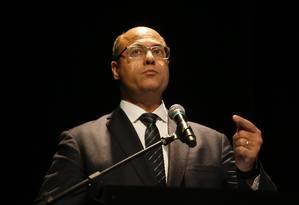 O governador do Rio, Wilson Witzel. Foto: Tânia Rêgo/Agência Brasil / Agência O Globo