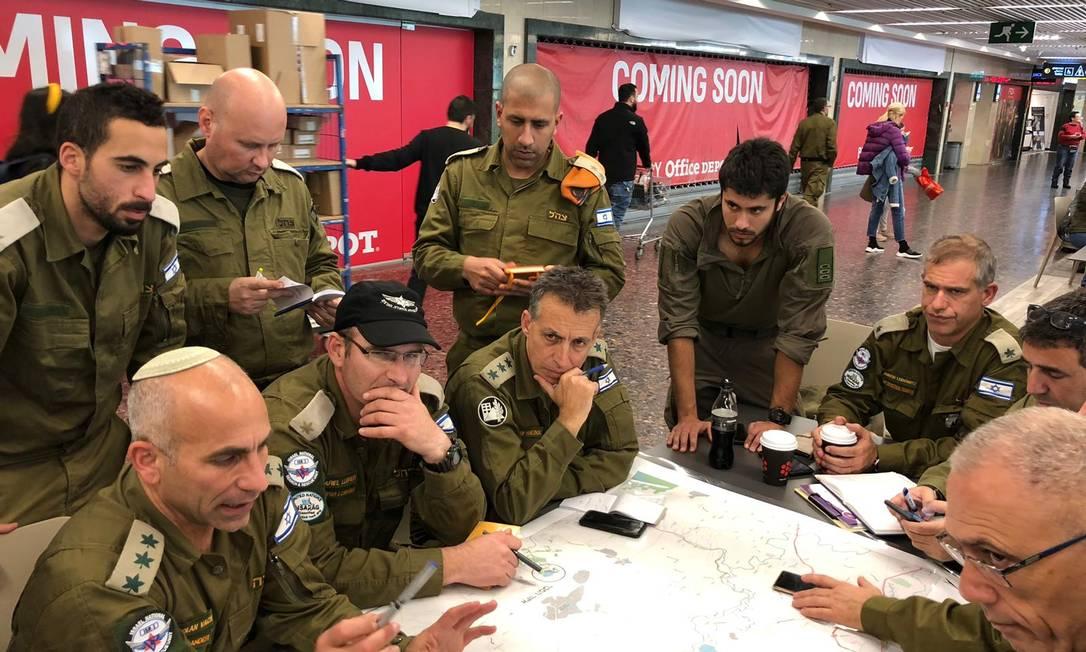 Militares israelenses que ajudaram nas buscas em Brumadinho Foto: Divulgação