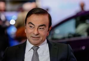 Carlos Ghosn, ex-presidente da Nissan e da Renault, está detido em Tóquio desde 19 de novembro Foto: Bloomberg