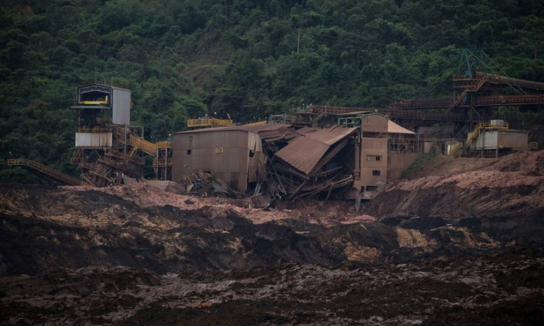 Acidente em barragem em Brumadinho fez cotação do minério de ferro subir ao maior nível desde setembro de 2017 Foto: / Bloomberg