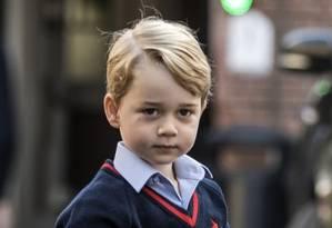 Príncipe George Foto: RICHARD POHLE / AFP