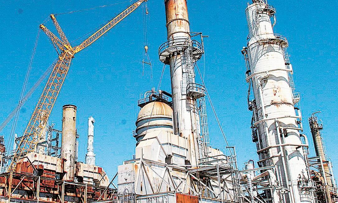 A refinaria de Pasadena, no Texas: compra pela Chevron Foto: Divulgação