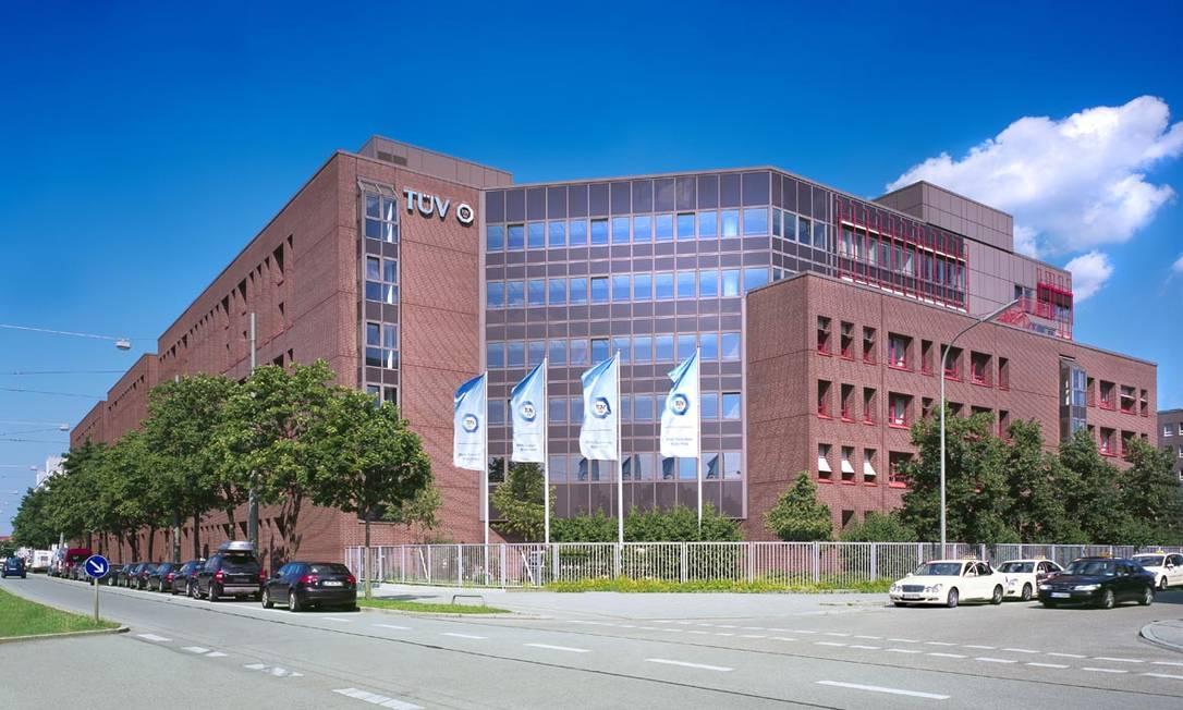 Sede da TÜV SÜD em Munique, na Alemanha Foto: Divulgação / TÜV SÜD