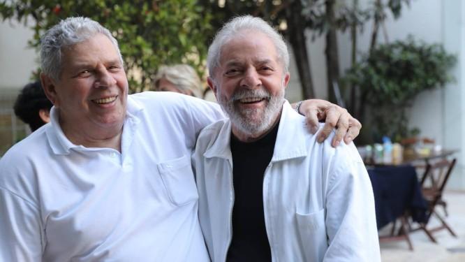 Vavá, irmão mais velho de Lula, tratava-se de câncer Foto: Reprodução/Twitter