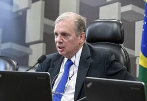 O senador Tasso Jereissati (PSDB-CE) Foto: Edilson Rodrigues/Agência Senado/11-12-2018