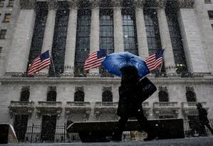 Bolsa de Nova York: investidores americanos da Vale querem indenização após Brumadinho Foto: BRENDAN MCDERMID / Reuters