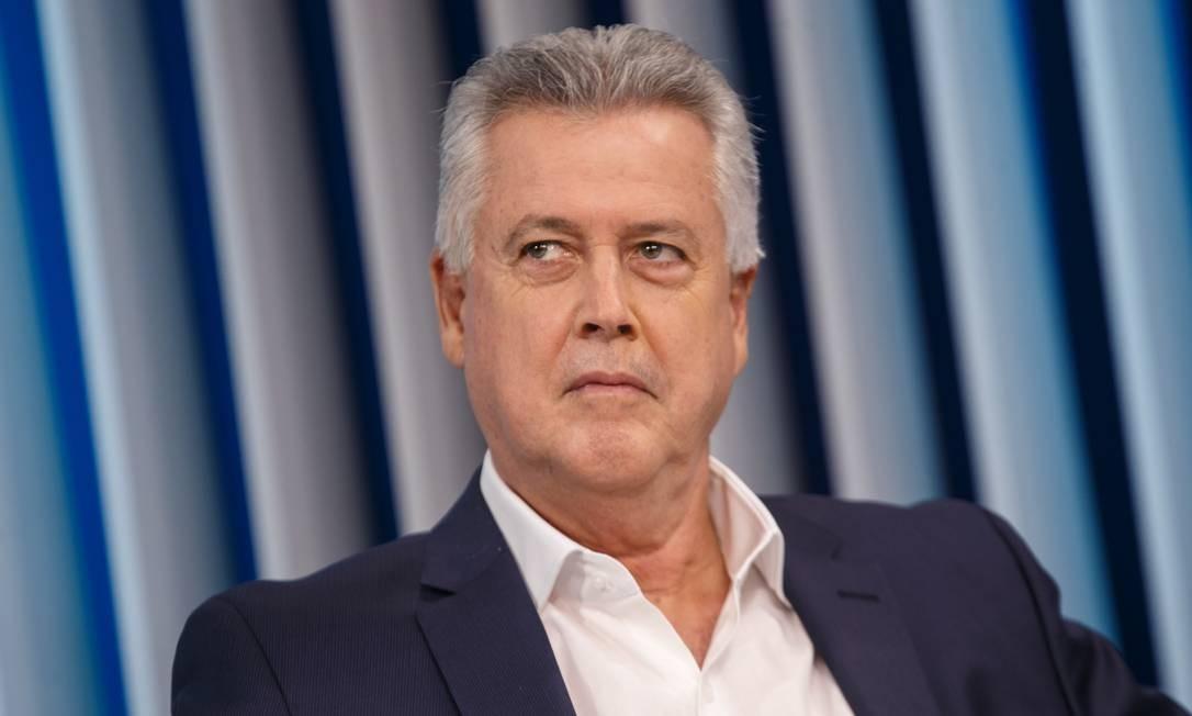 Rodrigo Rollemberg participa de debate na campanha eleitoral Foto: Daniel Marenco/Agência O Globo/02-10-2018