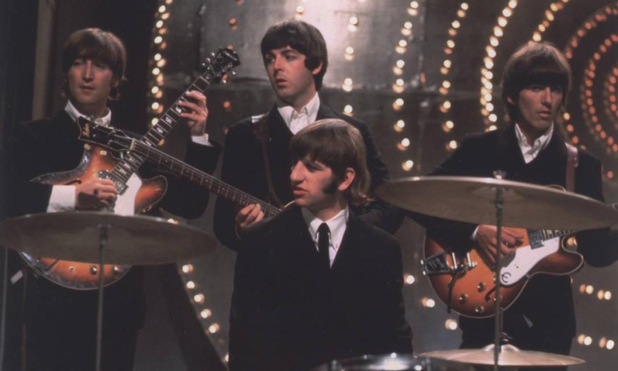 Os rapazes de Liverpool em apresentação Foto: Divulgação / .