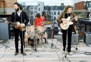Show surpresa sobre o telhado da Apple, no centro de Londres, realizado em 30 de janeiro de 1969, entrou para a história como