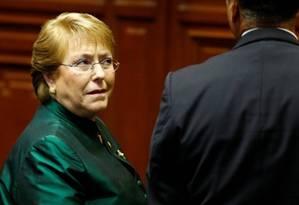 Ex-presidente do Chile, Michelle Bachelet foi nomeada alta comissária de direitos humanos da ONU Foto: Reuters