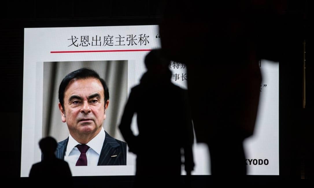 'Traduziram liderança forte como ditadura', afirmou Ghosn em entrevista a jornal japonês Foto: Bloomberg
