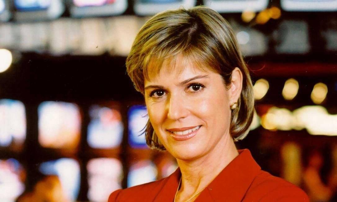 Marcia Peltier foi mais um rosto conhecido do jornalismo brasileiro a passar pelo 'Sem censura'. Ela esteve no programa da TVE entre 1991 e 1993. Foto: Arquivo