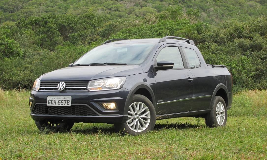 CA - 10/09/2016 - Volkswagen Saveiro cabine dupla - fotos de Roberto Dutra Foto: Roberto Dutra / Agência O Globo