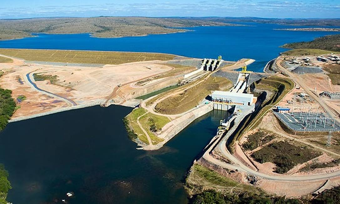 Hidrelétrica de Retiro Baixo, em Minas Gerais Foto: Divulgação-Eletrobras