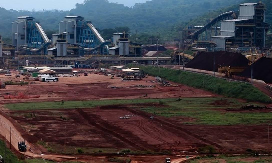 Vale inaugura expansão do complexo de Carajás, no Pará, orçado em US$ 14,3 bilhões e que vai adicionar 90 milhões de toneladas de minério de ferro por ano à capacidade de produção da companhia, quando chegar a sua plena capacidade Foto: Eny Miranda/Cia da foto/Vale