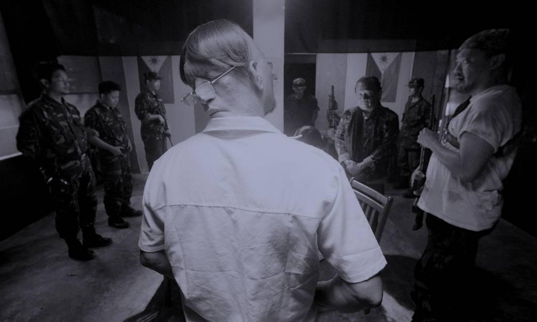 'Estação do diabo' faz parte de uma nova leva de musicais que subvertem as regras do gênero, com efeitos dramáticos desconcertantes Foto: Divulgação / Divulgação