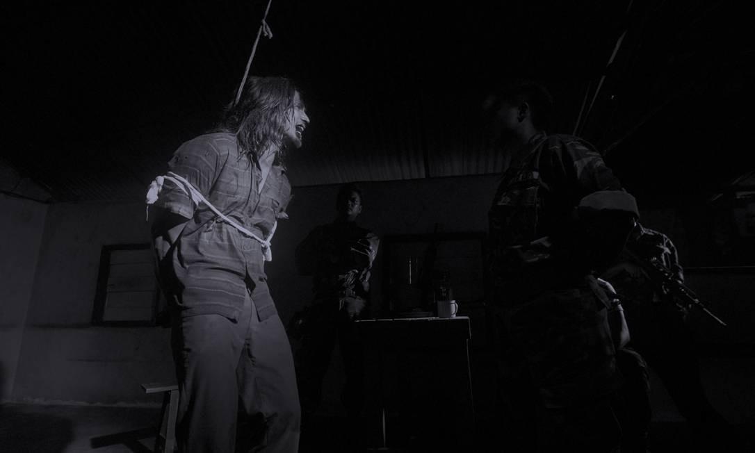 O filme começa em 1979, época em que foi criada pelo governo uma milícia nacional para combater 'dissidentes comunistas' Foto: Divulgação / Divulgação