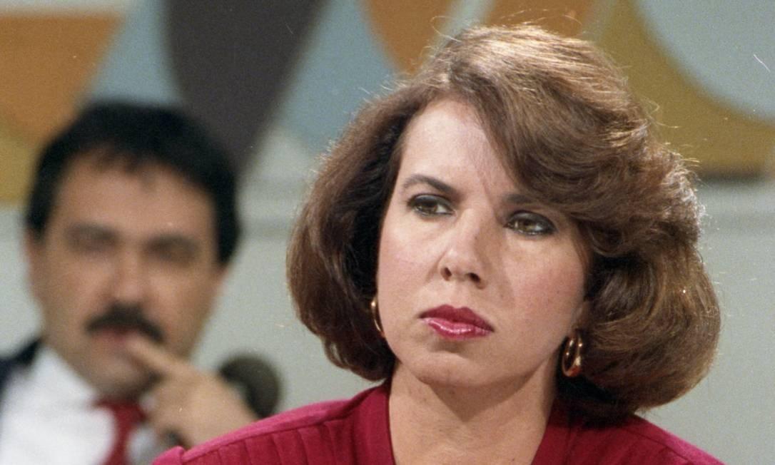 Elizabeth Camarão teve uma breve passagem pelo programa, em 1991 Foto: Agência O Globo