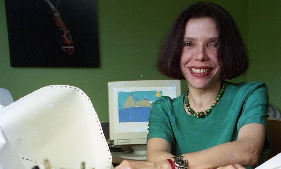 A primeira edição do 'Sem censura' foi ao ar em 1º de julho de 1985, das 13h às 15h, apresentado pela jornalista Tetê Muniz. Ainda em 1985, Gilse Campos (foto) passou a comandar a bancada Foto: O Globo