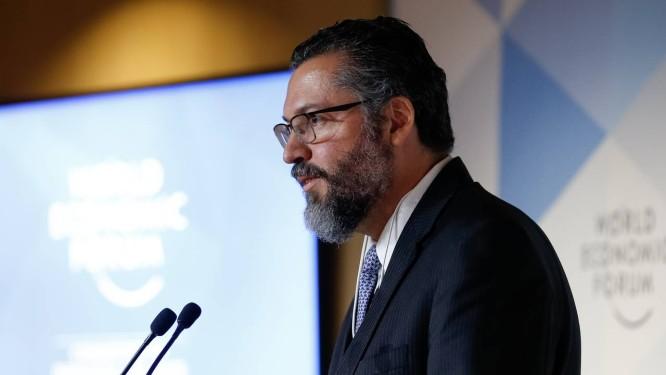 Ministro de Estado das Relações Exteriores, Ernesto Araújo. Foto: Alan Santos / PR