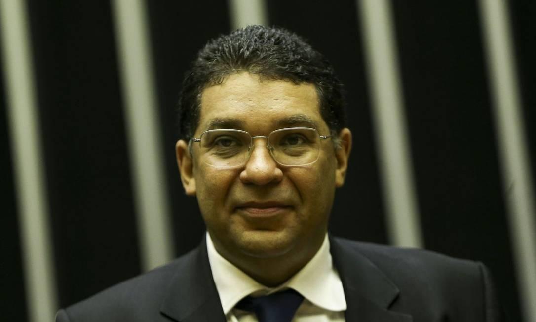 O secretário do Tesouro Nacional, Mansueto Almeida, durante evento na Câmara Foto: Marcelo Camargo/Agência Brasil/20-11-2018