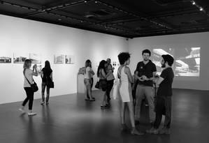 Exposição 'Cinco anos do edital do Memorial Vale' Foto: Walmir Monteiro/Divulgação