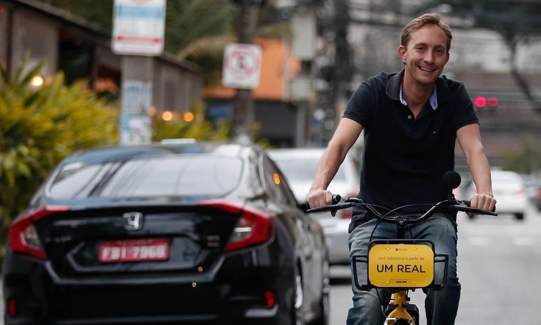 Ariel Lambrecht, fundador da Yellow Foto: Marcos Alves / Agência O Globo