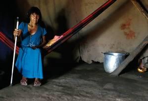 Tanumakaru, avó que criou Lulu Kamyurá Foto: Jorge William / Agência O Globo
