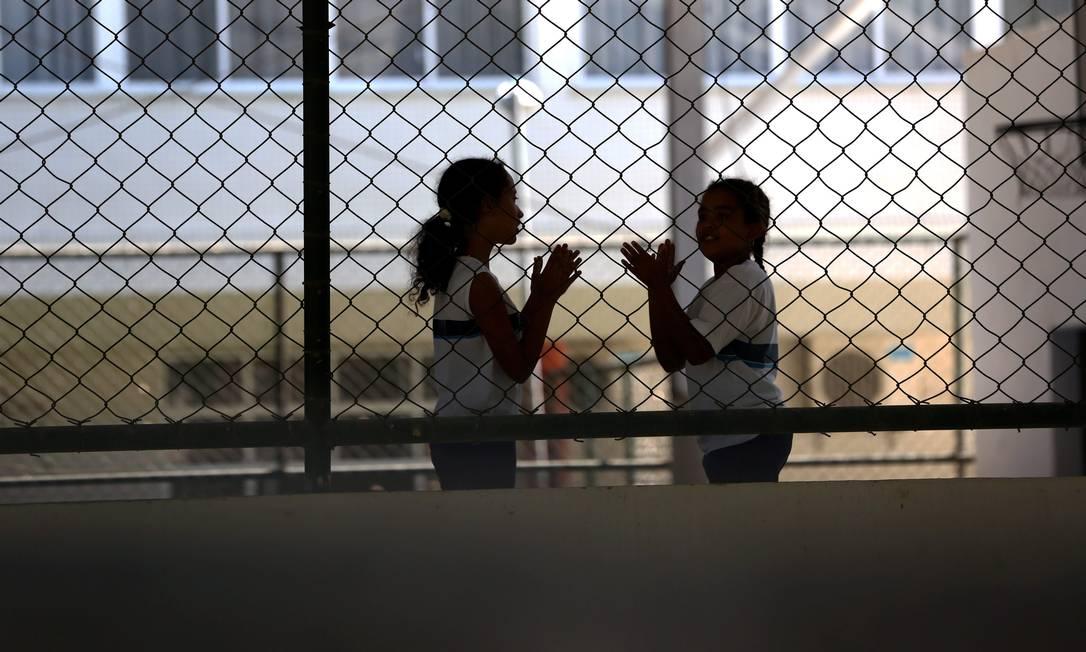 Ensino fundamental tem instabilidade em matrículas em tempo integral Foto: Custódio Coimbra / Agência O Globo