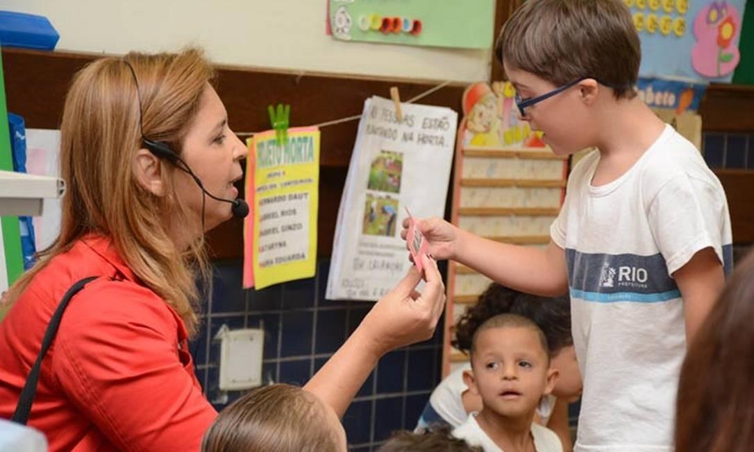 Matrículas na educação especial aumentaram 33,2% entre 2014 e 2018, segundo Censo Escolar Foto: Divulgação