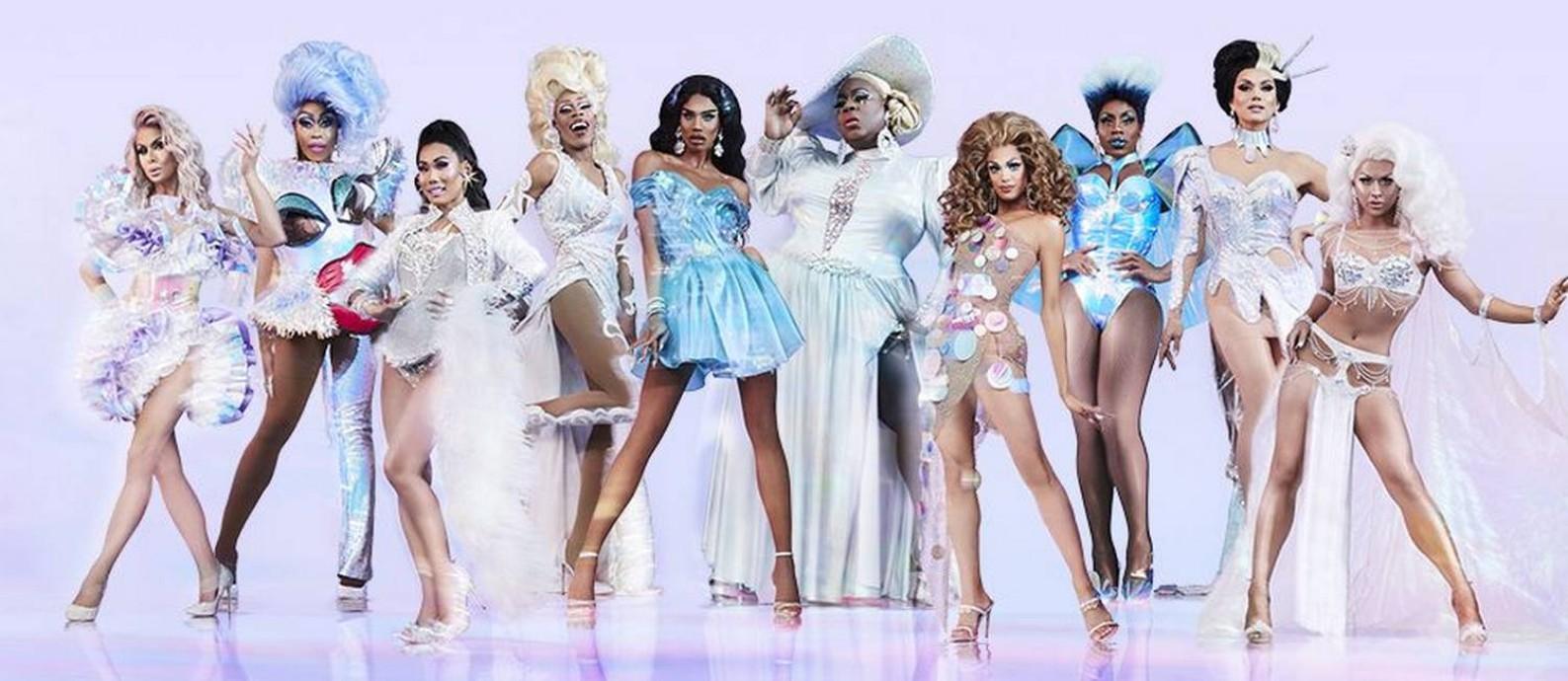 O elenco da quarta temporada de 'RuPaul's drag race all stars' Foto: Divulgação