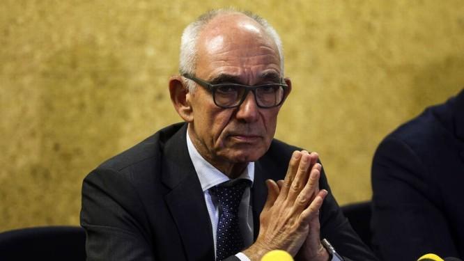 O presidente da Vale, Fabio Schvartsman, durante entrevista coletiva Foto: Valter Campanato/Agência Brasil/29-01-2019