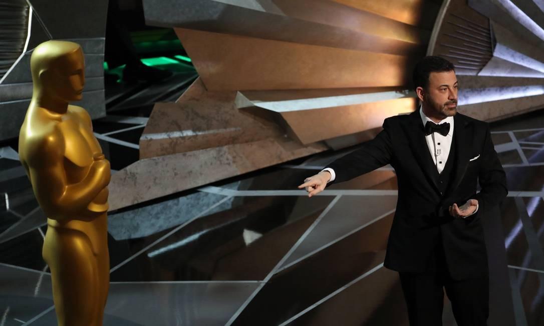 Jimmy Kimmel, que apresentou o Oscar em 2018 Foto: PATRICK T. FALLON / NYT