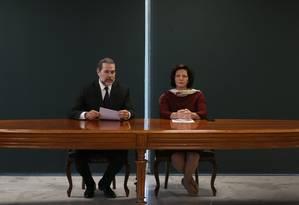 O presidente do STF, ministro Dias Toffoli, e a procuradora-geral da República, Raquel Dodge, durante pronunciamento Foto: Jorge William / Agência O Globo