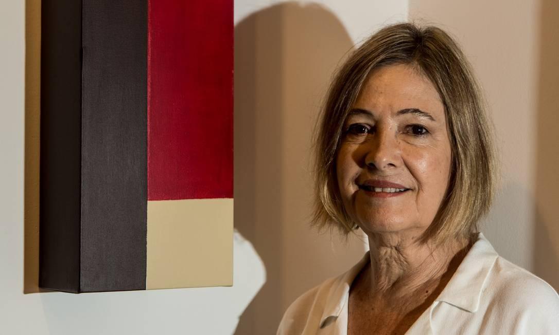 Lucia Vilaseca ressalta heterogeneidade das obras participantes Brenno Carvalho / Agência O Globo