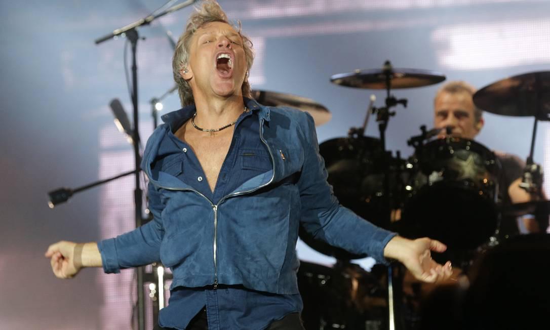 Bon Jovi no Palco Mundo em 2017 Foto: Márcio Alves / Agência O Globo
