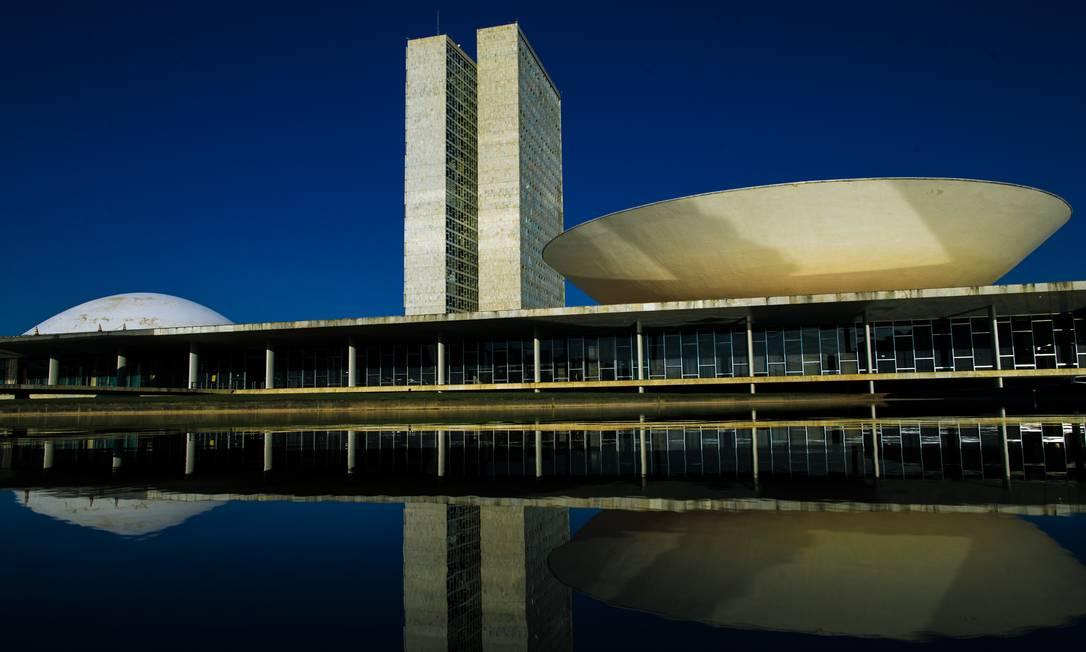 Congresso Nacional, em Brasília Foto: Daniel Marenco / Agência O Globo