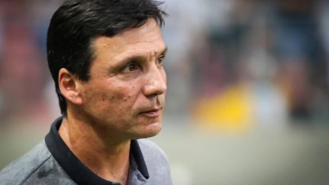 Zé Ricardo pode poupar o time para confronto internacional Foto: Dudu Macedo / Agência O Globo