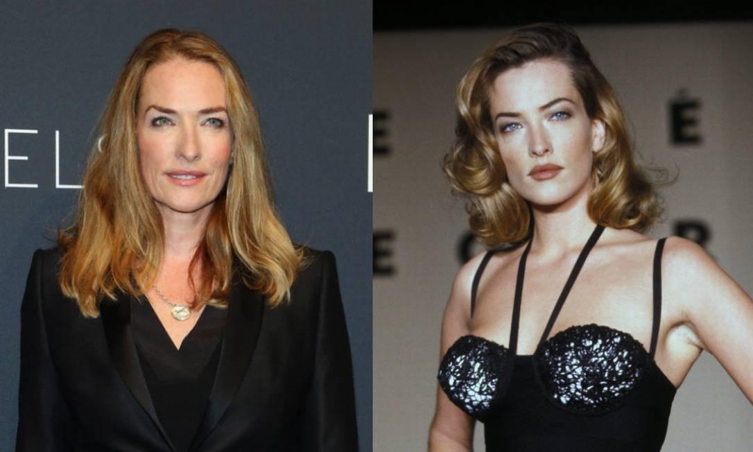 Aos 52 anos, a alemã Tatjana Patitz é rosto da L'Oréal Foto: Getty Images