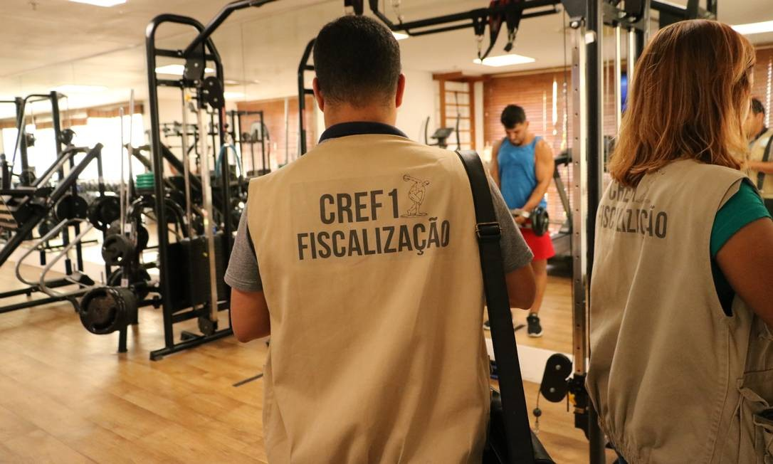 Conselho de Educação Física fiscaliza condomínios com academia mas sem professor Foto: Flavia Ferreira / Divulgação