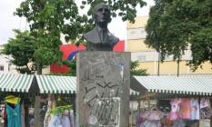 Busto de Agripino Grieco, no Méier Foto: Mauricio Peixoto / Mauricio Peixoto