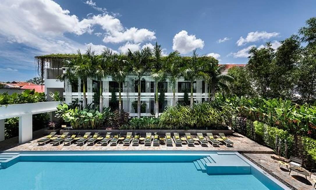 Hotel Viroth's, em Siem Reap, Camboja Foto: Divulgação/Tripadvisor